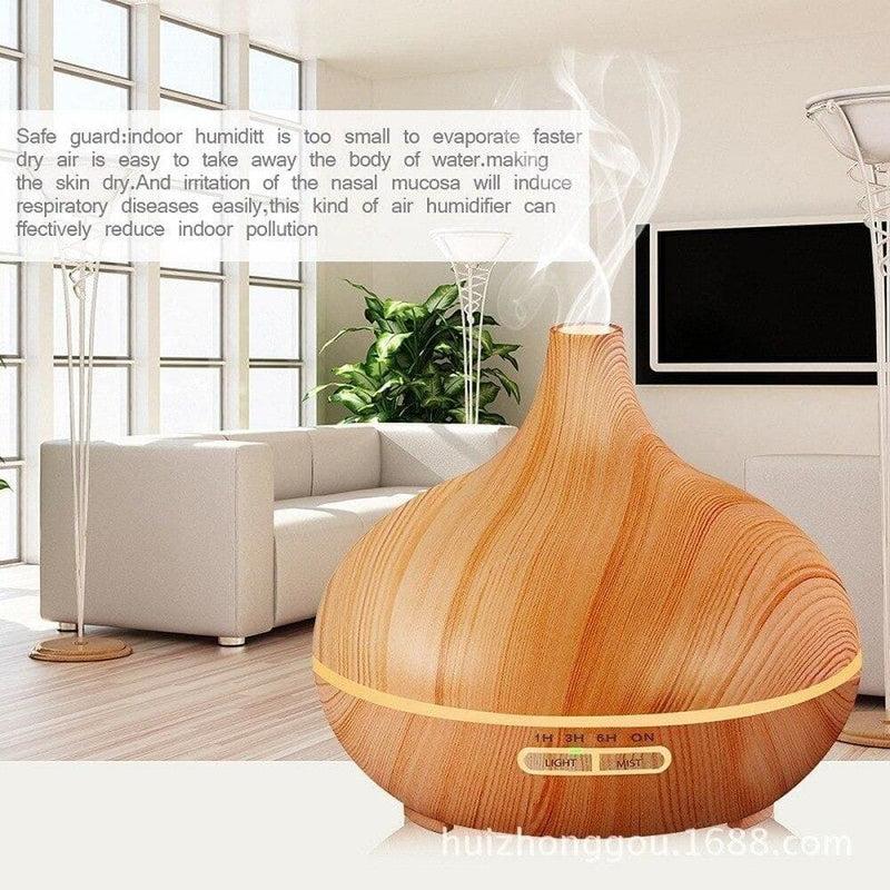 Remote Control Aroma Diffuser Essentia Oil Fragrances