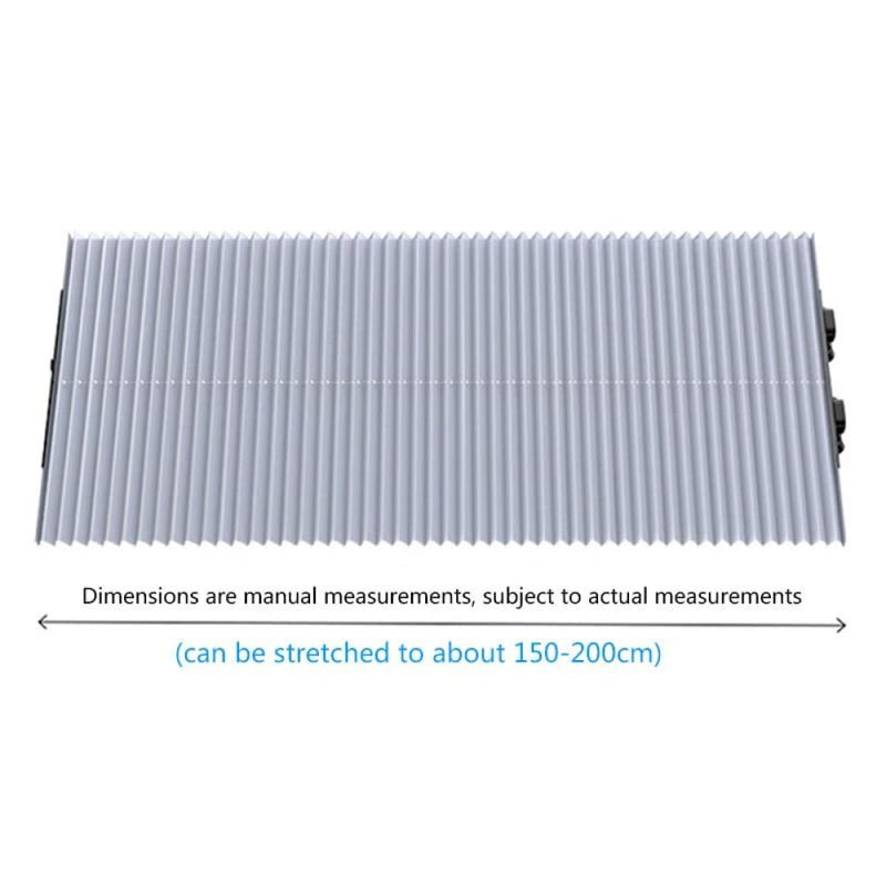 Retractable Car front Windshield Sunshade -