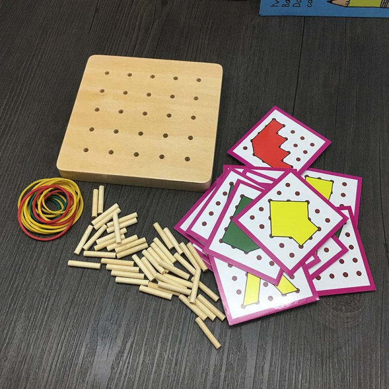 Shape Cognition Montessori Educational Wooden Toy