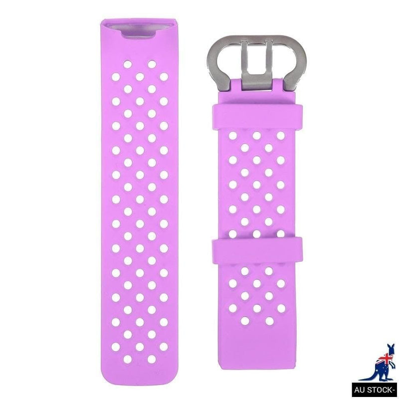 Silicone Watch Band Latest Replacement for Fitbit Charge 3