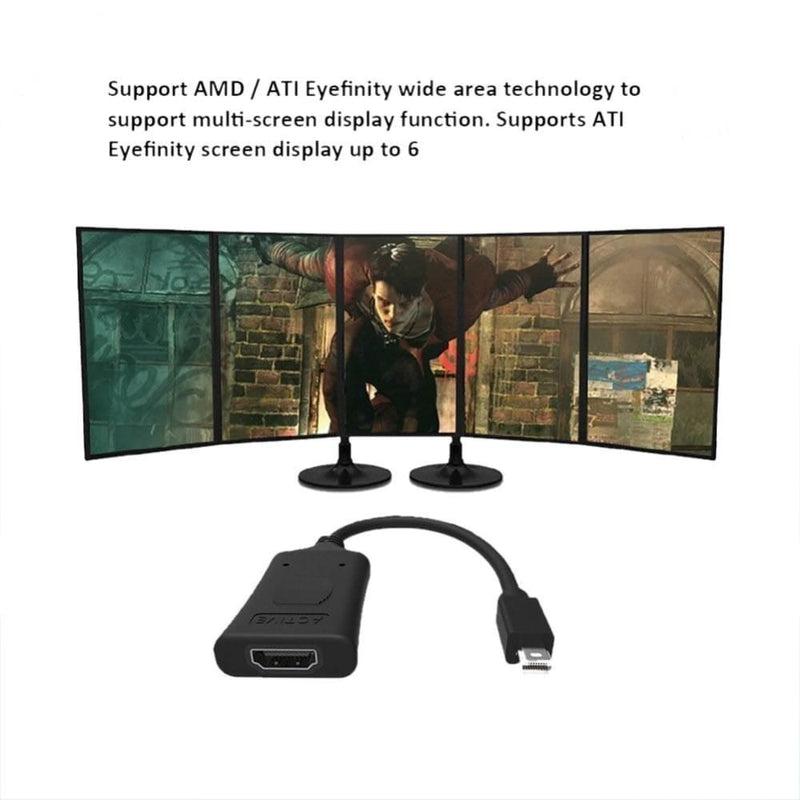 Simplecom Da101 Active Minidp to Hdmi Adapter 4k Uhd