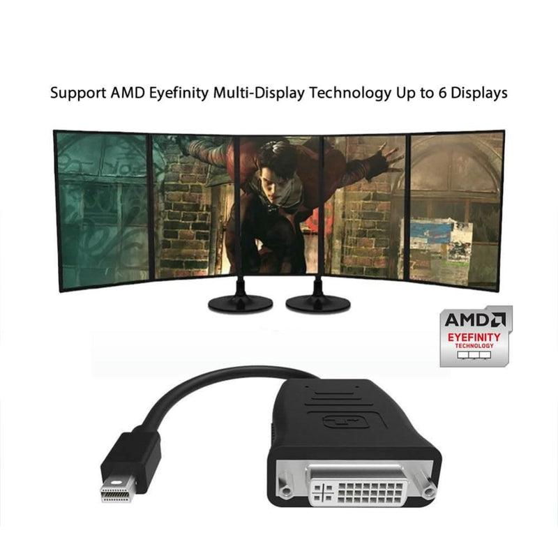 Simplecom Da102 Active Minidp to Dvi Adapter 4k Uhd