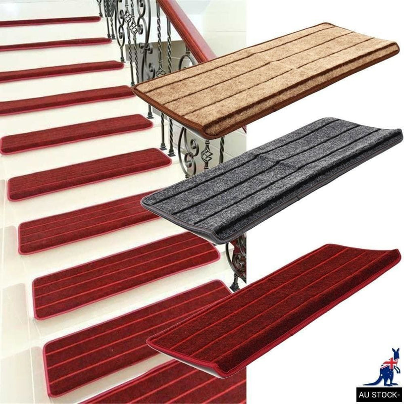 Non Slip Tread Carpet Mats Step Staircase non Mat Protection