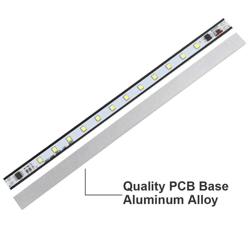 Smd2835 Led Bar Light 195mm 290mm 390mm Hard Strip Aluminum