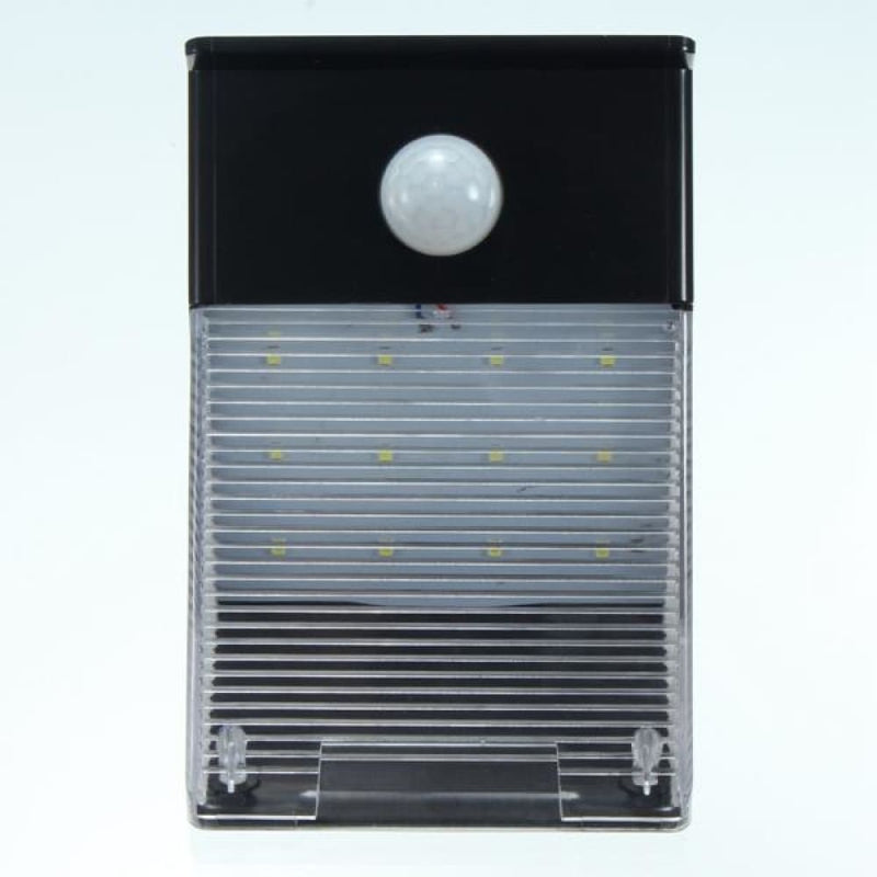 Solar Powered 12 Led Pir Motion Sensor Wall Light Outdoor
