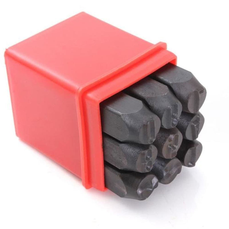 Stamps Numbers Set Punch Steel Metal Die Tool - 9 Options