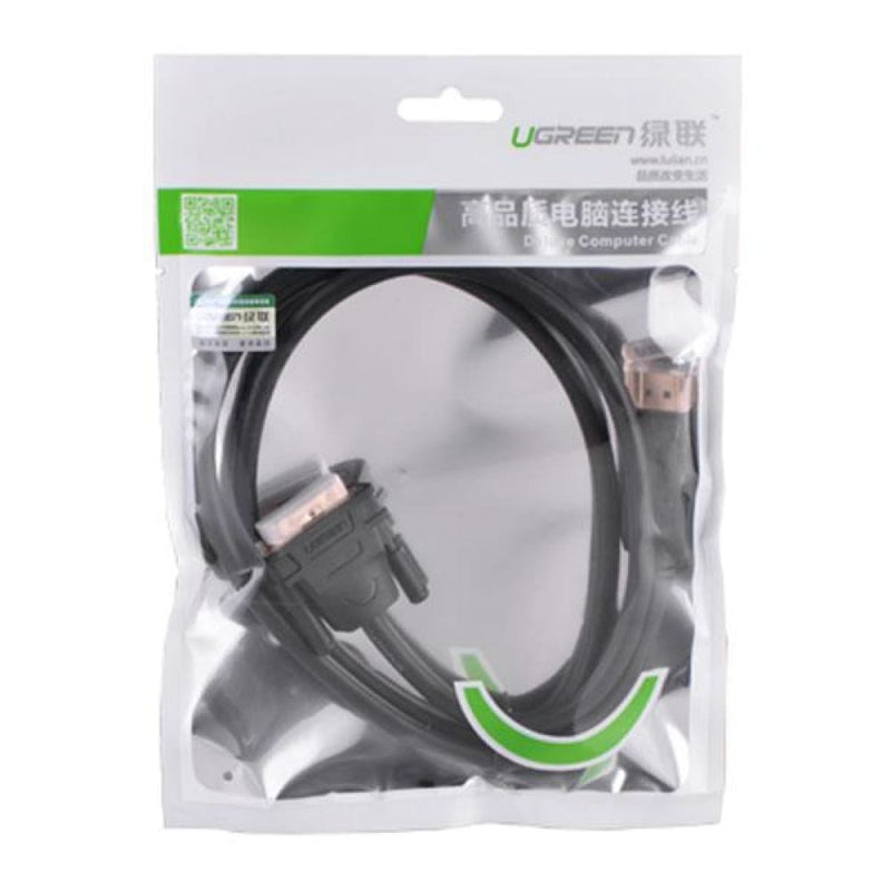 Ugreen Dp Male to Dvi Cable 2m (10221)