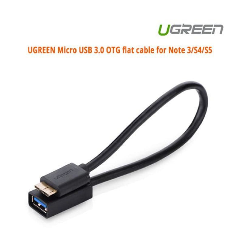 Ugreen Micro Usb 3.0 Otg Flat Cable for Note 3/s4/s5 (10801)