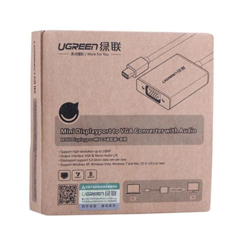 Ugreen Mini Display Port to Vga+audio Converter Cable