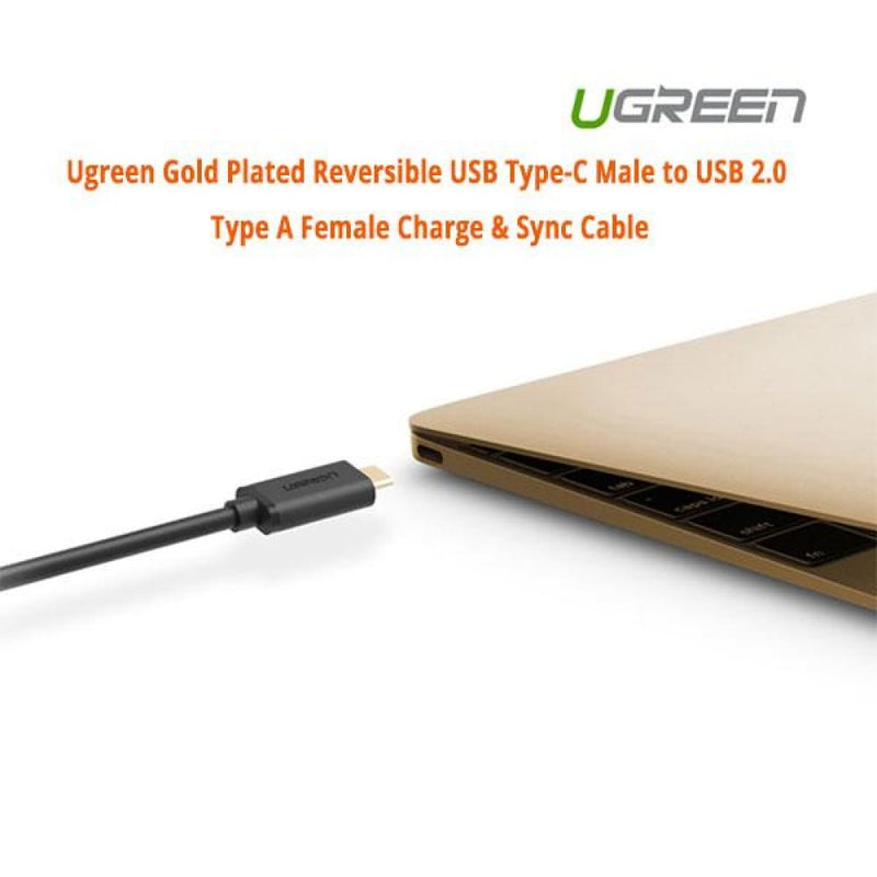 Ugreen Usb Type-c Male to 2.0 Type a Female Charge & Sync