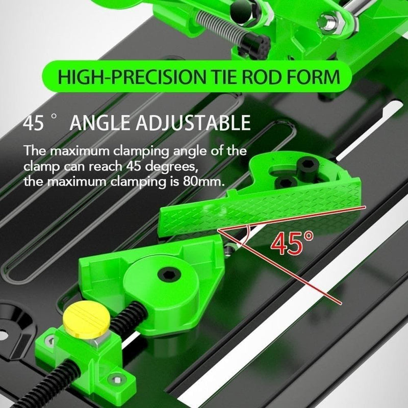 Universal Angle Grinder Stand Holder Woodworking Tool Cut