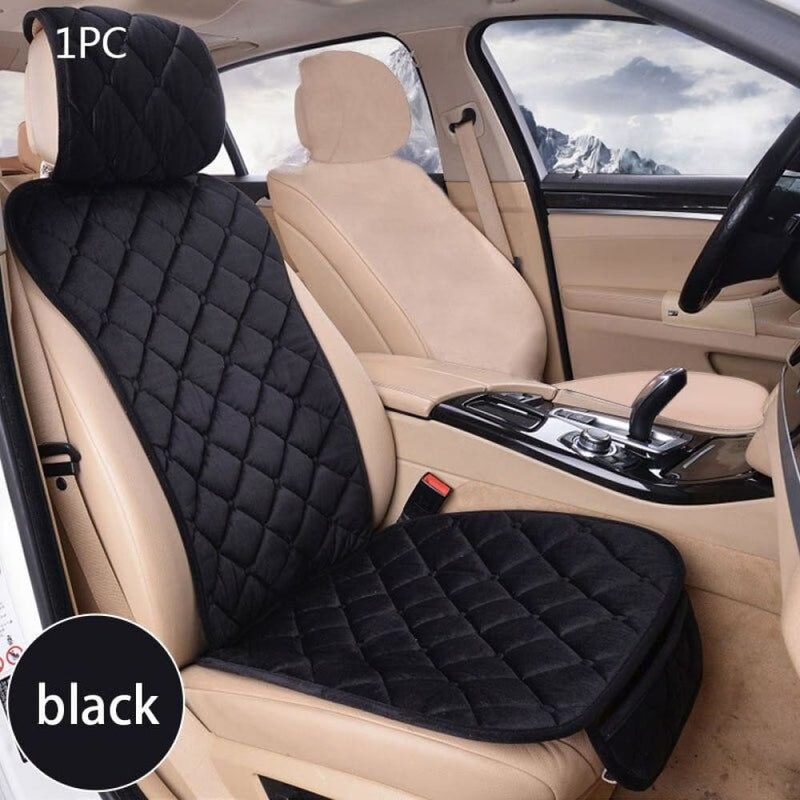 Universal Car Seat Cover Plush Automobiles Covers front Rear