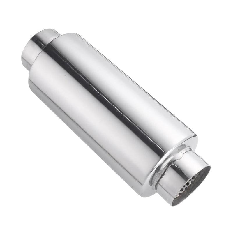 Universal Exhaust Muffler Resonator 304 Stainless Steel 2.5