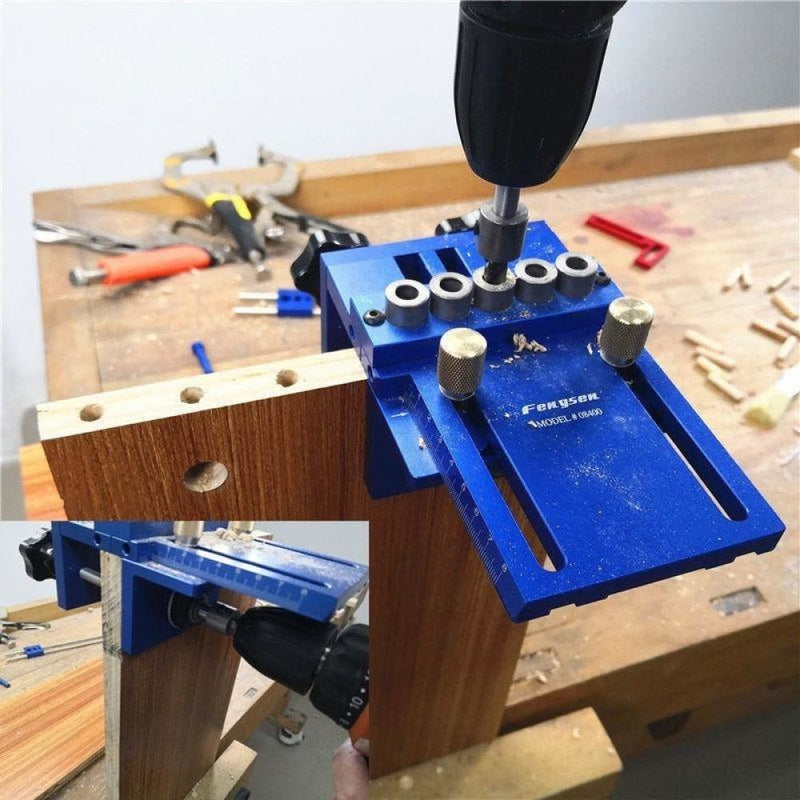 Upgraded Dowelling Jig Set High Precision Woodworking Tool