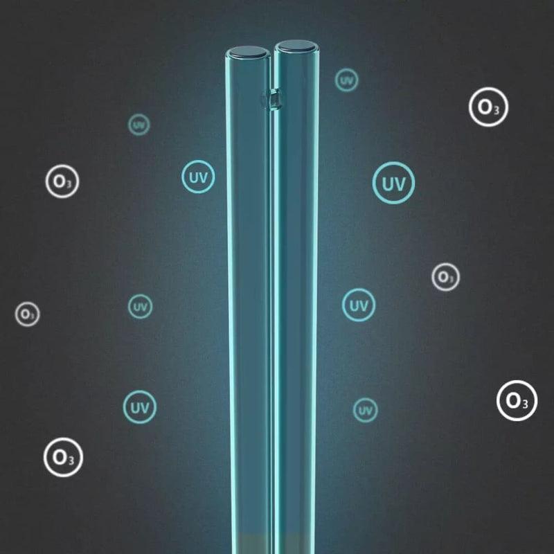 Uvc Sterilizing Lamp 38w Power Ozone Uv Disinfection