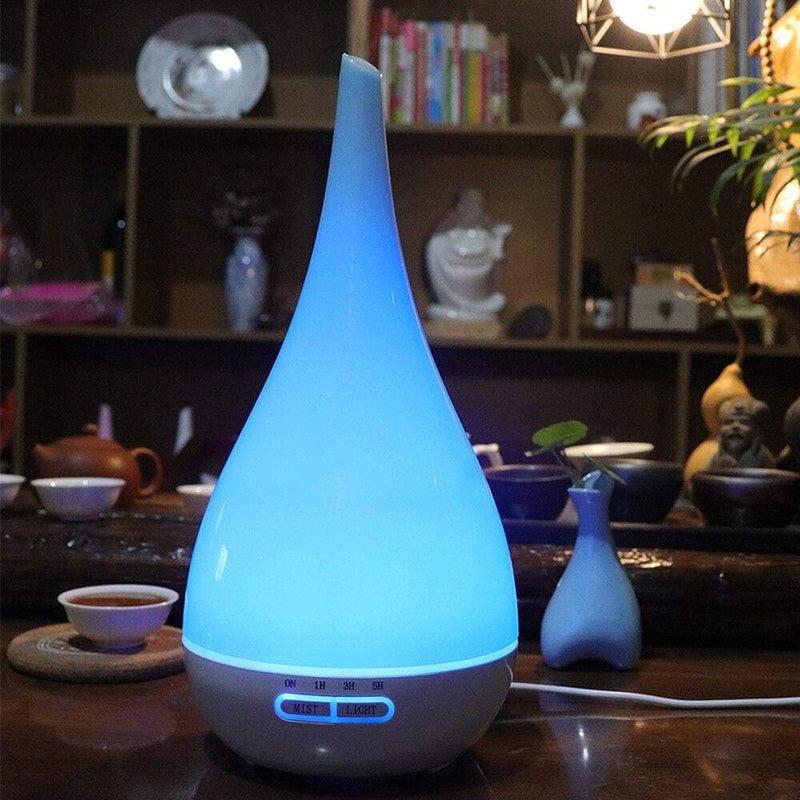 Vase Shape Air Humidifier Ultrasonic Essential Oil Diffuser