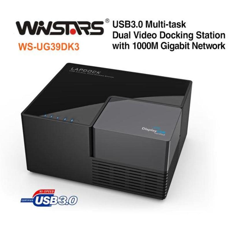 Winstars Usb 3.0 Universal Docking Station (ws-ug39dk3)