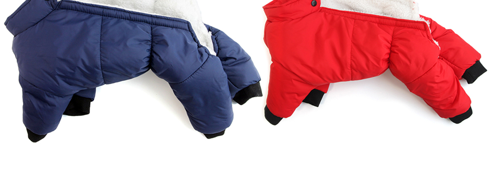 Dog Winter Coat Warm Clothes Small Puppy Clothing For French