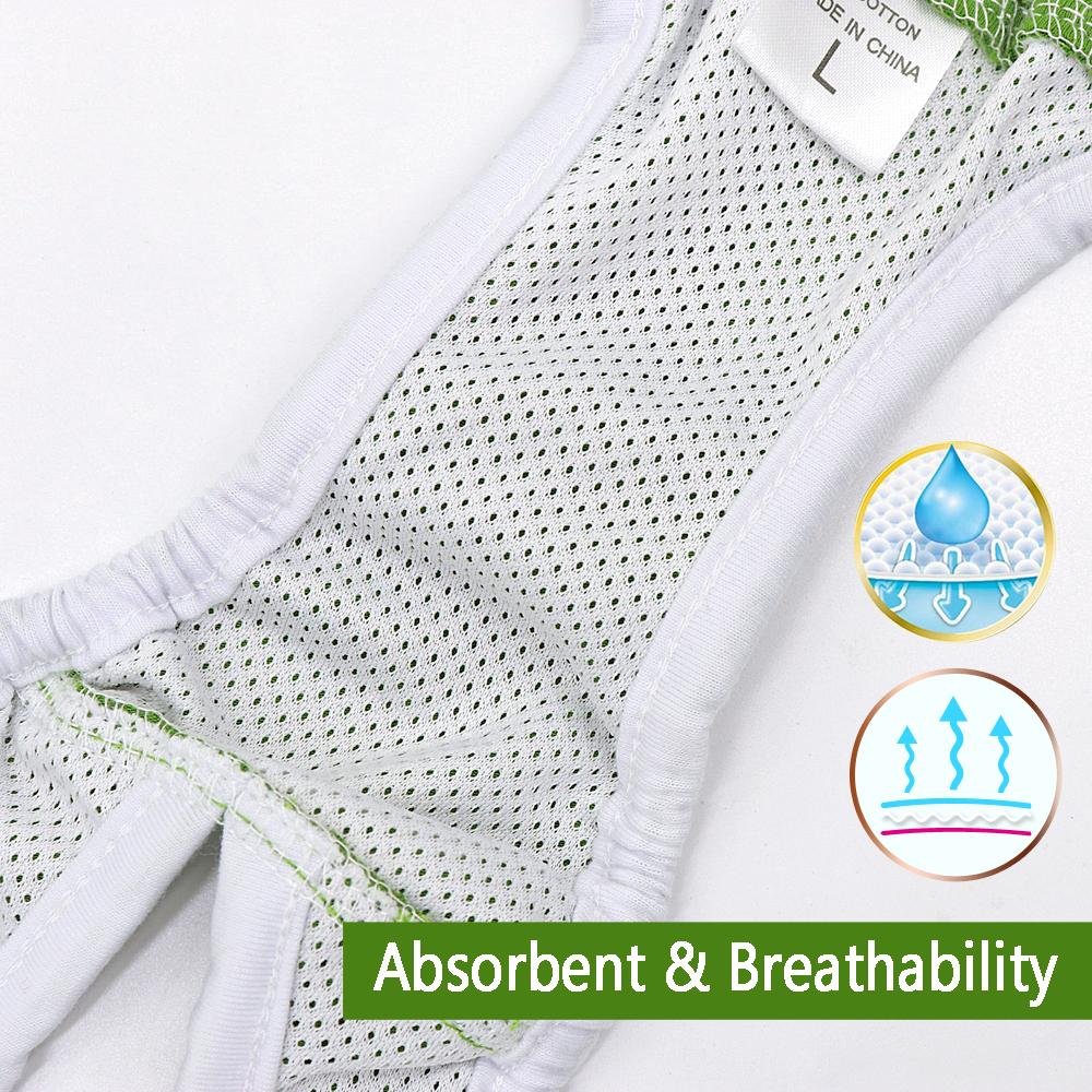 Dog Diapers Physiological Pants Washable Female Dog Shorts