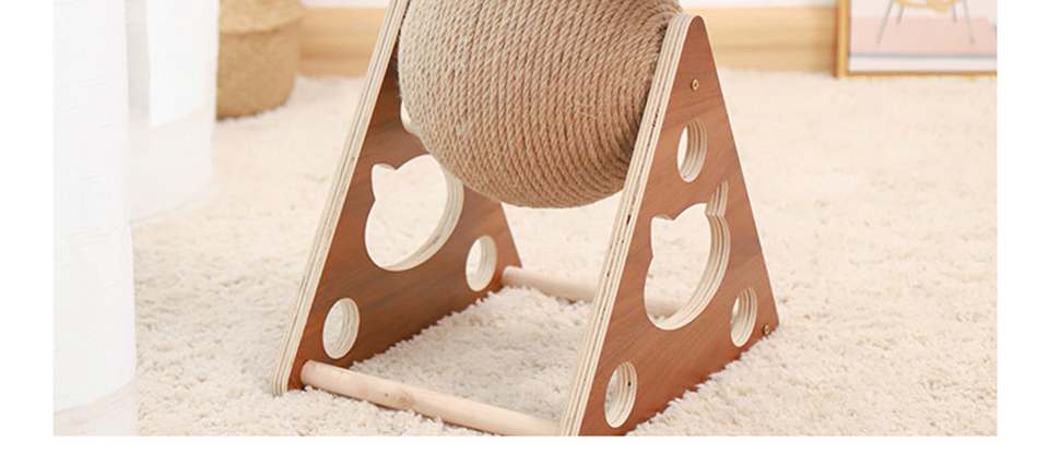 Pet Cat Tree Toys with Ball Cat Scratching Post with Sisal